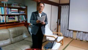 講座1-2 講師畑口實さん(元広島平和記念資料館館長)