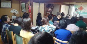講師「韓国の原爆被害者を救援する市民の会」世話人の豊永恵三郎さん