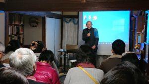 講座3-4 講師杉山武郎さん(ヒロシマを語り継ぐ教師の会会長)